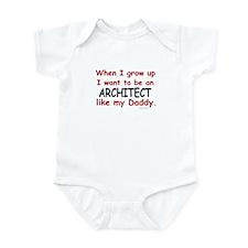 Architect (Like My Daddy) Infant Bodysuit