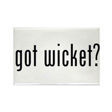got wicket? Rectangle Magnet