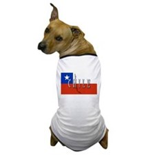 Chile Flag Extra Dog T-Shirt