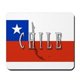Chile Flag Extra Mousepad