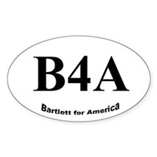 B4A Oval Decal