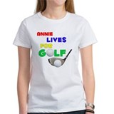 Annie Lives for Golf - Tee