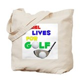 Ismael Lives for Golf - Tote Bag