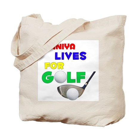 Shaniya Lives for Golf - Tote Bag