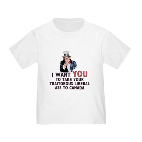 Traitorous Liberal Toddler T-Shirt
