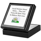 Retirement Gifts Keepsake Box