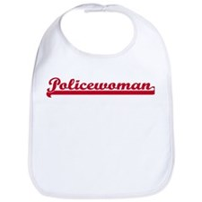 Policewoman (sporty red) Bib