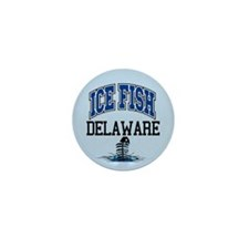 Ice FIsh Delaware Mini Button