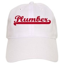 Plumber (sporty red) Baseball Cap