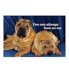 Lean on me Pei Postcards (Package of 8)