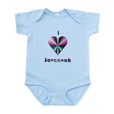 I Love Savannah #2 Infant Bodysuit
