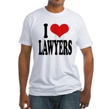 I Love Lawyers Shirt