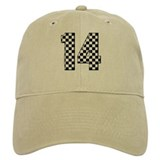 racing car #14 Baseball Cap