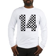 racing car #14 Long Sleeve T-Shirt