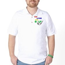 Bob Lives for Golf - T-Shirt