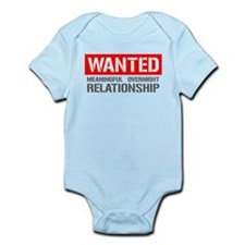 Wanted! Meaningful Overnight Relationship Infant B