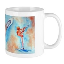 Peaches & Cream Ice Skate Small Mugs