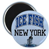 "Ice Fish New York 2.25"" Magnet (100 pack)"
