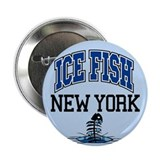 "Ice Fish New York 2.25"" Button (100 pack)"