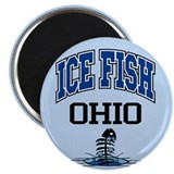 "Ice Fish Ohio 2.25"" Magnet (100 pack)"