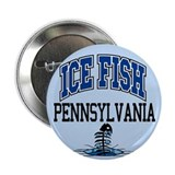 "Ice Fish Pennsylvania 2.25"" Button"