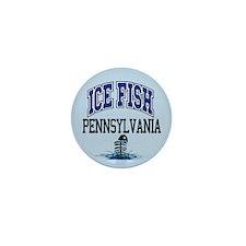 Ice Fish Pennsylvania Mini Button (10 pack)