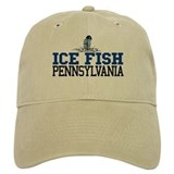 Ice Fish Pennsylvania Baseball Cap