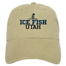 Ice Fish Utah Baseball Cap