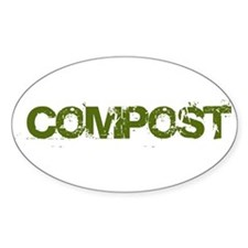COMPOST Oval Decal