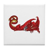 Dragon (Red) Tile Coaster