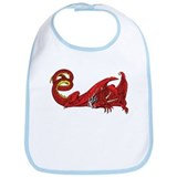 Dragon (Red) Bib