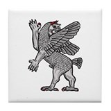 Griffin Demon Tile Coaster