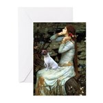 Ophelia / JRT Greeting Cards (Pk of 20)