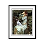 Ophelia / JRT Framed Panel Print