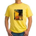 Cafe / JRT Yellow T-Shirt