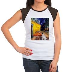 Cafe / JRT Women's Cap Sleeve T-Shirt