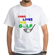 Chris Lives for Golf - Shirt