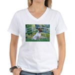 Bridge / JRT Women's V-Neck T-Shirt