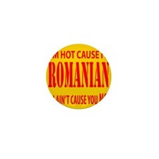Hot Romanian Mini Button