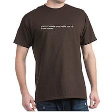 SQL Query T-Shirt