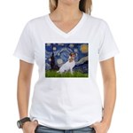 Starry / JRT Women's V-Neck T-Shirt