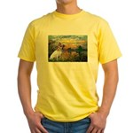 Sunset / JRT Yellow T-Shirt