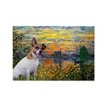 Sunset / JRT Rectangle Magnet (10 pack)