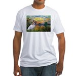 Sunset / JRT Fitted T-Shirt