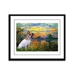 Sunset / JRT Framed Panel Print