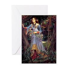 Ophelia / JRT Greeting Card