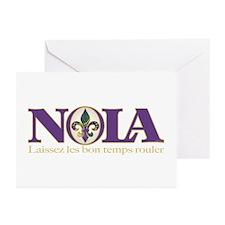 NOLA Mardi Gras Greeting Cards (Pk of 20)