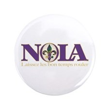 "NOLA Mardi Gras 3.5"" Button (100 pack)"