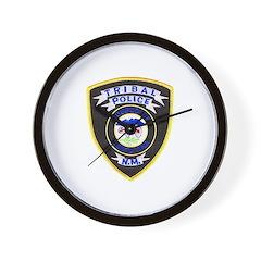 Santa Ana Tribal Police Wall Clock