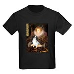 Queen/Japanese Chin Kids Dark T-Shirt